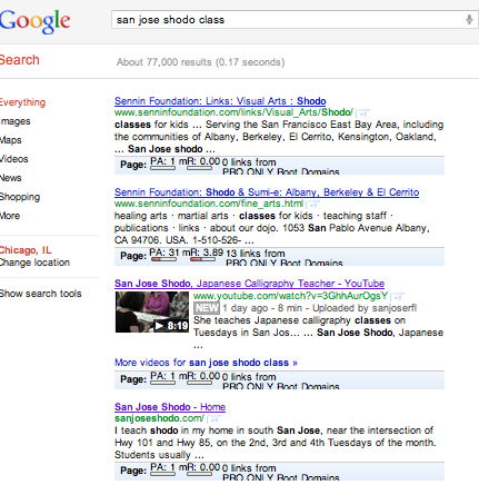value of videos in Google SERPs